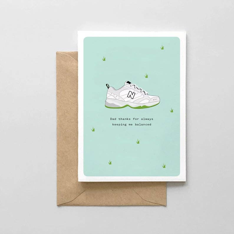 New Balance Sneakers Dad Card - SM2