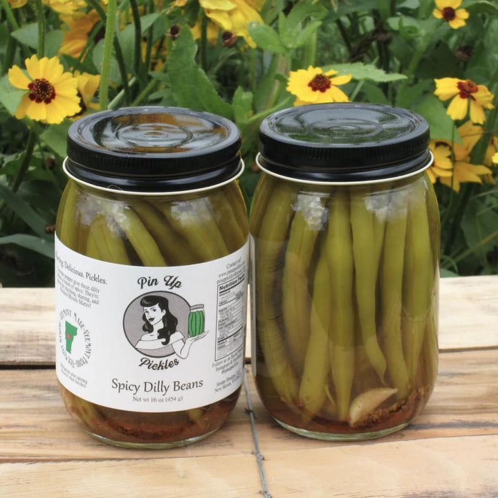 Made in Vermont Spicy Dilly Beans