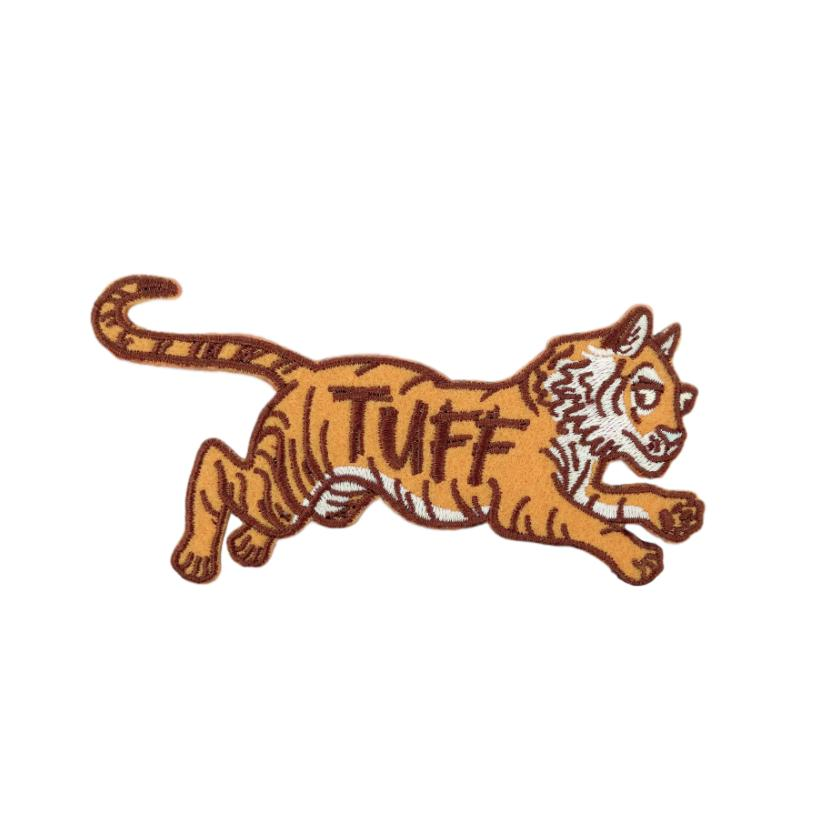 Tuff Tiger Iron-On Patch