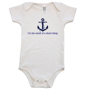 Anchor Organic Cotton Baby Onesie - 12-18 Months