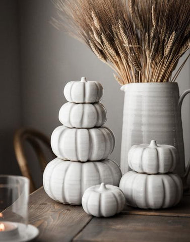 Farmhouse Pottery Heirloom Ceramic Pumpkins