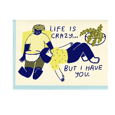 Life is Crazy Card - PL1