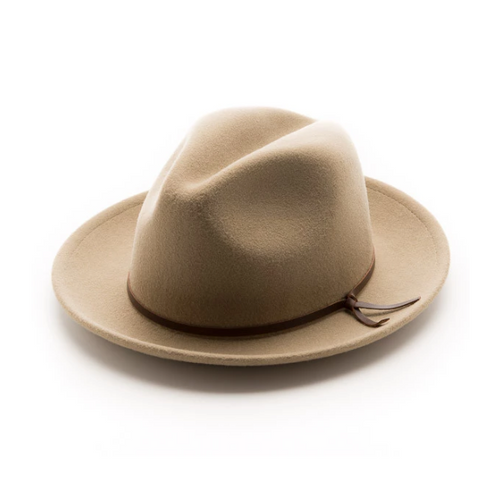 Merino Wool Luke Fedora - Putty