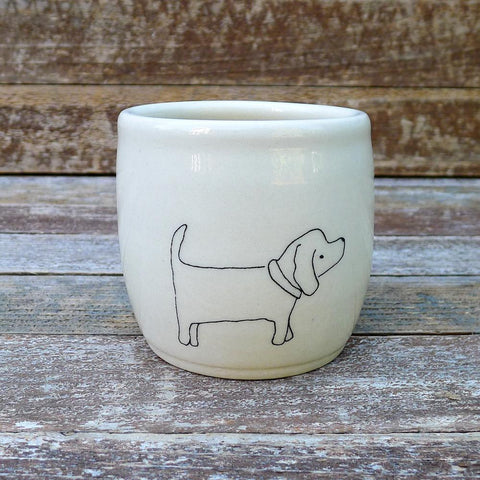 Small Ceramic Animal Cup