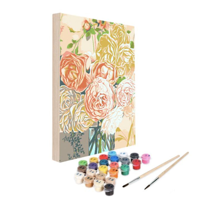 Paint By Numbers Kit - All Roses