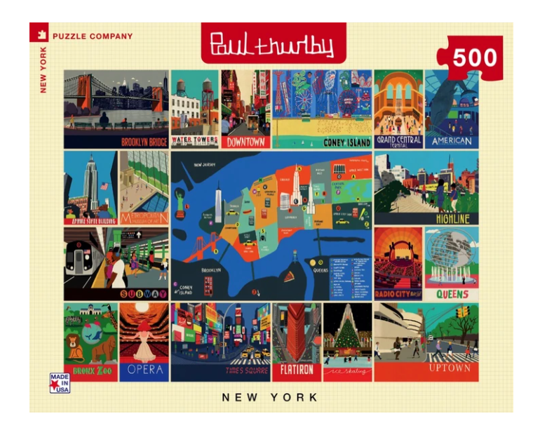 New York Collage Puzzle - 500 Piece