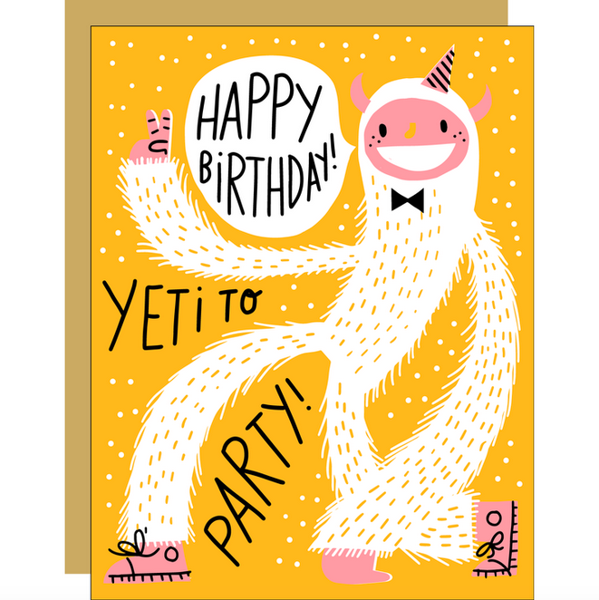 Yeti To Party Card - EP5