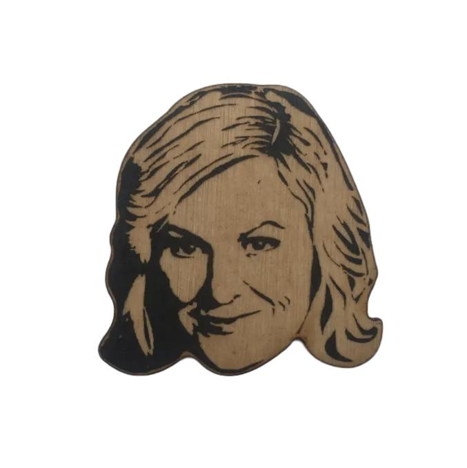 Famous Face Ornament - Amy Poehler