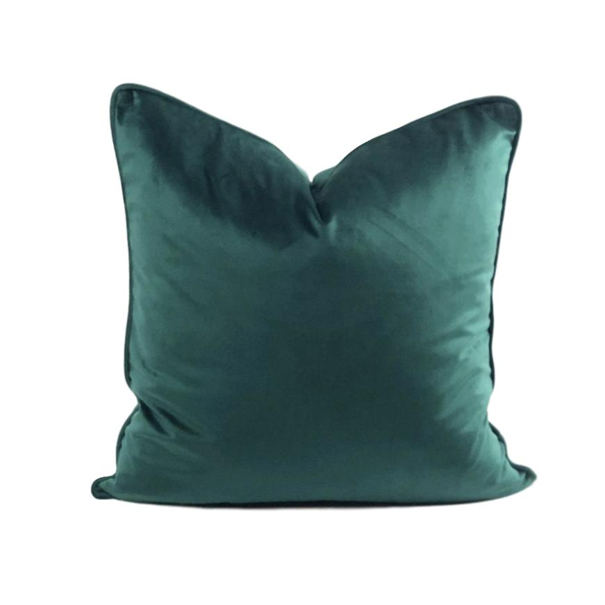 Emerald Velvet Pillow - 20x20