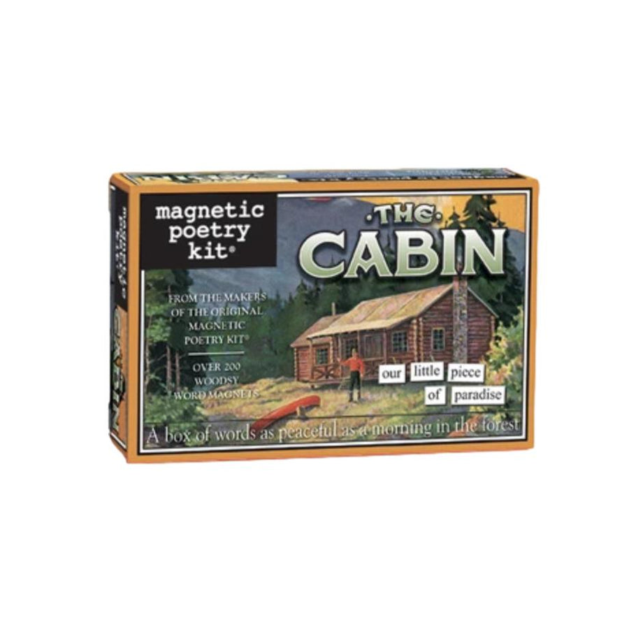 Magnetic Poetry Kit - Cabin
