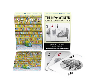 New Yorker Cartoons Playing Cards - Book Lover