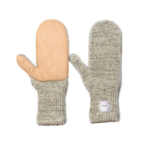 Mittens with Deerskin