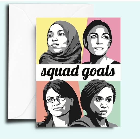 Squad Goals Women Card - FC2