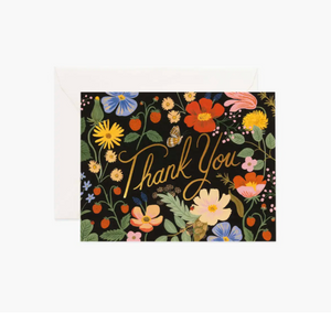 Strawberry Fields Thank You Boxed Set of 8 Cards
