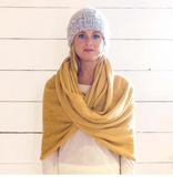 Cashmere Wrap it Again Sam Inifinity Scarf/Shrug