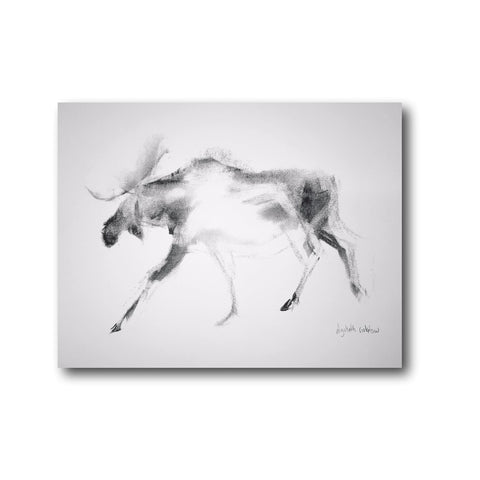 Vermont x Vermont Artists Print Series II: ricketson, Moose on the Loose