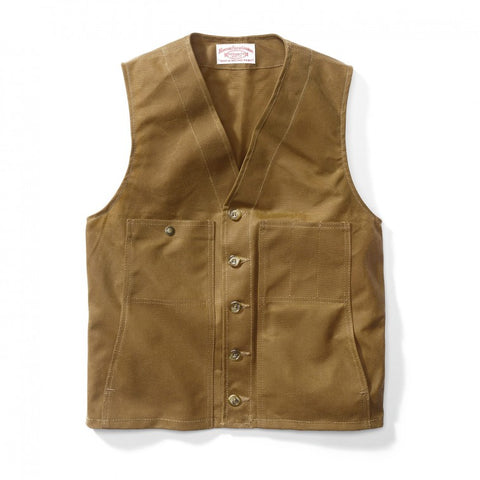 Filson Tin Cloth Vest - Alaska Fit