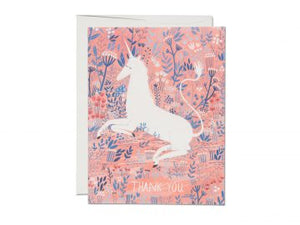 Unicorn Thank you Card - RCC