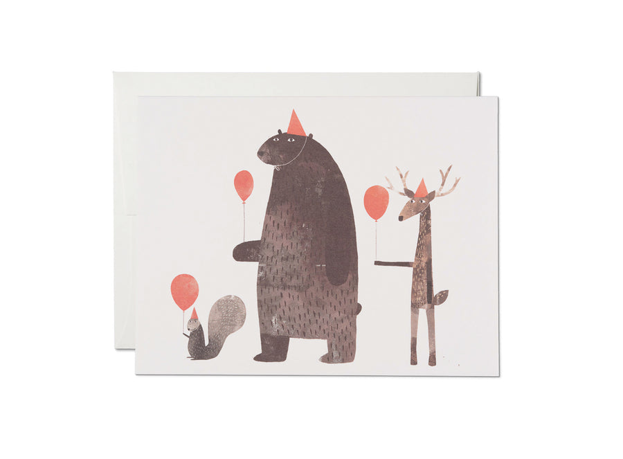 Party Animals Birthday Card - 6RC