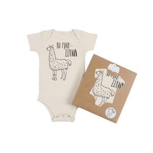 No Problama Organic Cotton Baby Bodysuit