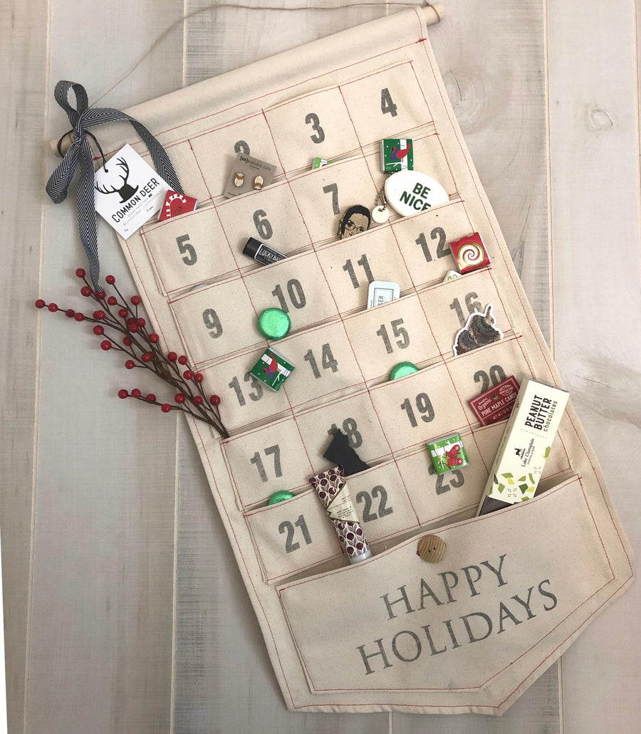 Canvas Pocket Advent Calendar
