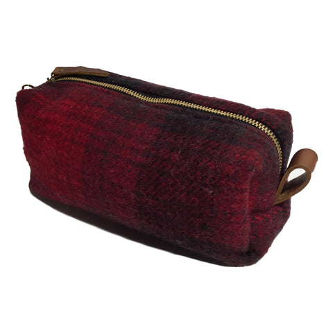 Pendleton Wool Cosmetic Bag