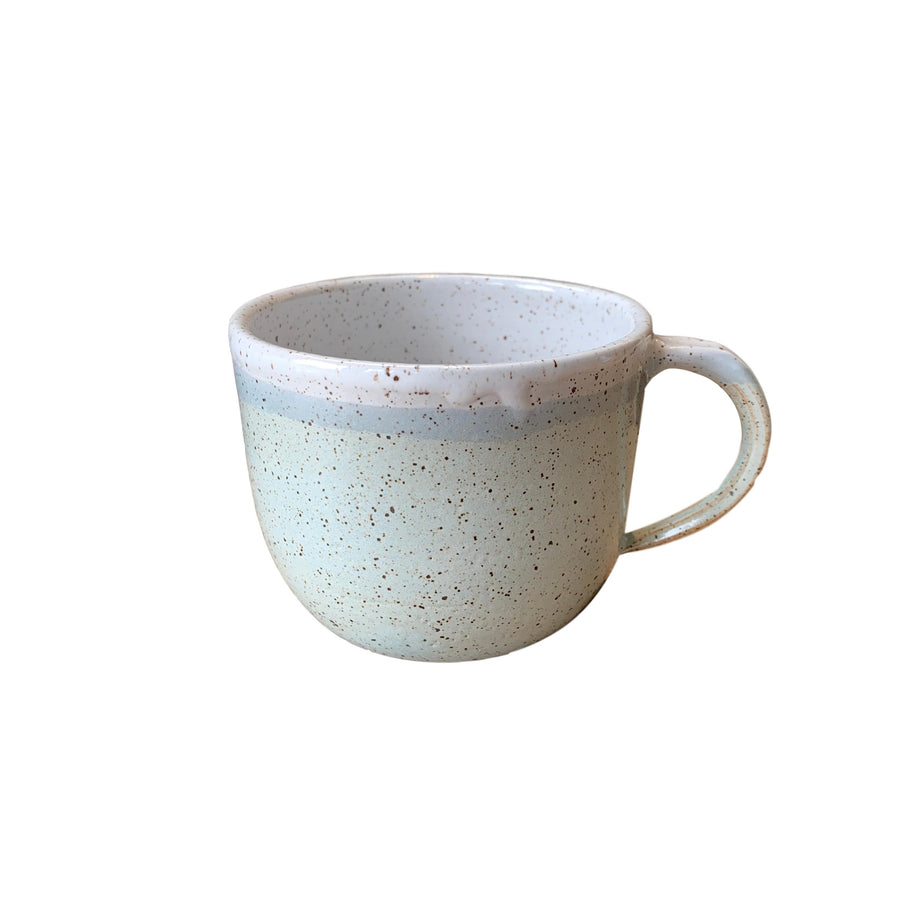 Speckled Mug 16oz - Light Blue