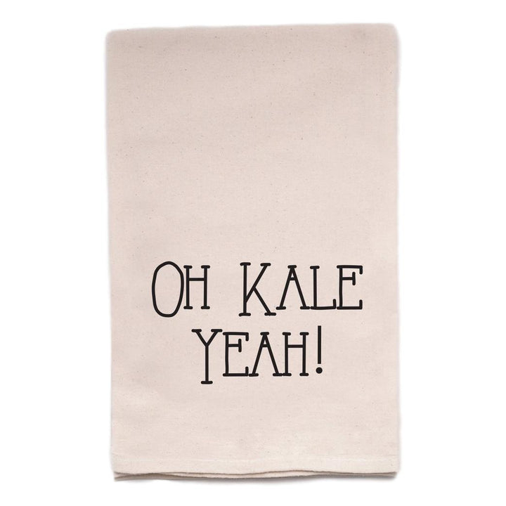 Oh Kale Yeah! Tea Towel