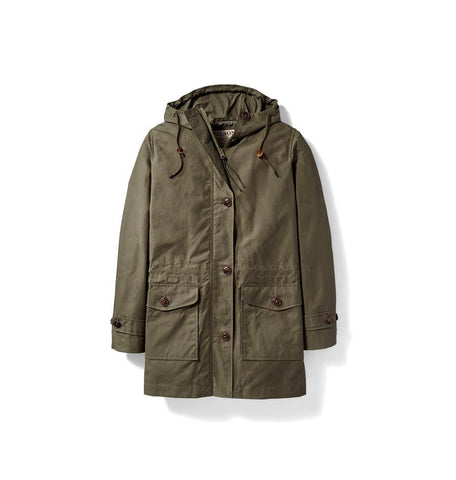 Women's Field Parka Olive Grey