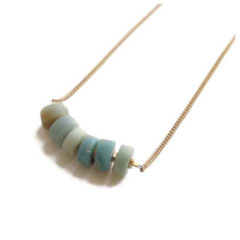 August Stone Necklace