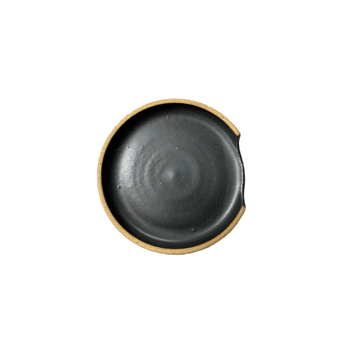 Ceramic Spoon Rest Black