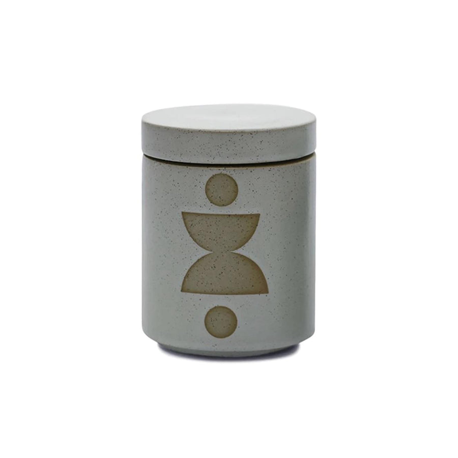 Abstract Shapes Planter Candle - Ocean Rose & Mint