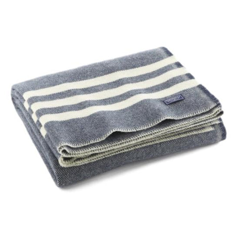 Trapper Striped Wool Throw