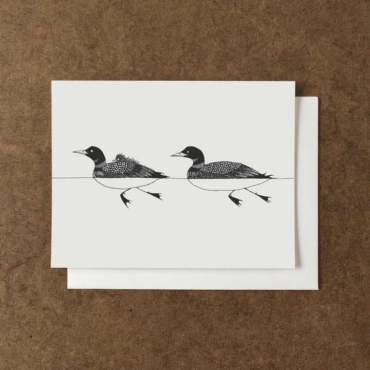 Loon Family Card - AL4