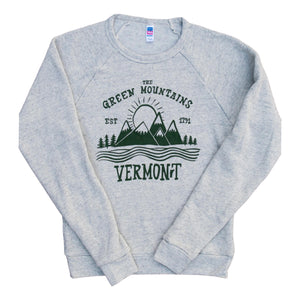 Green Mountains Vermont Crew Neck Sweatshirt - ND