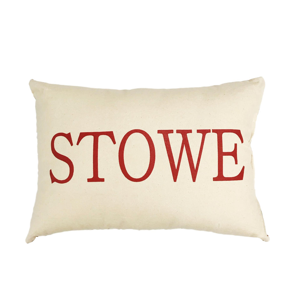 Canvas Stowe Pillow
