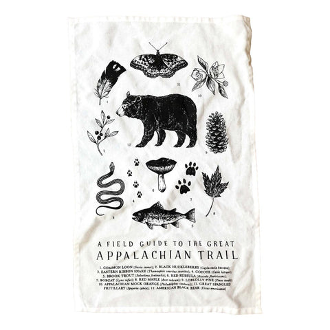 Appalachian Trail Tea Towel