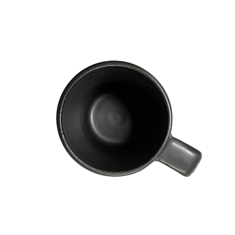 Medium Stoneware Mug Black