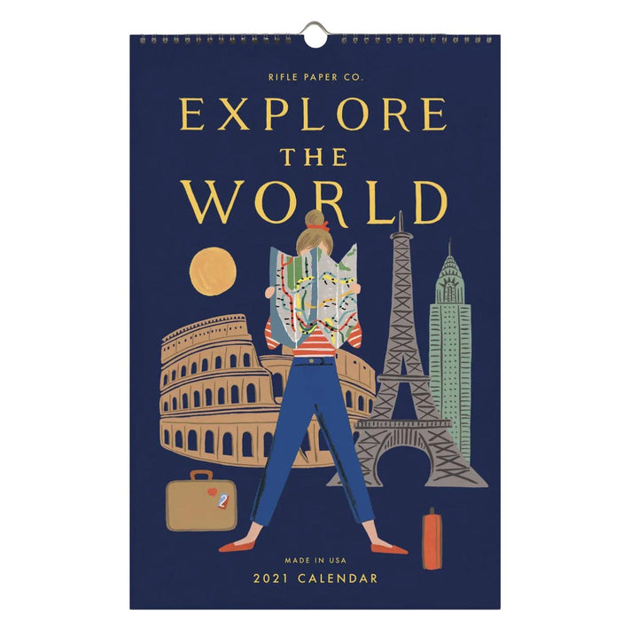 Explore the World 2021 Wall Calendar