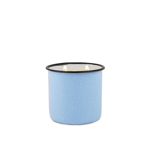 Wild Fig and Cedar Enamel Cup Candle
