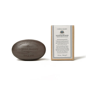 Triple-Milled Sandalwood Soap Bar