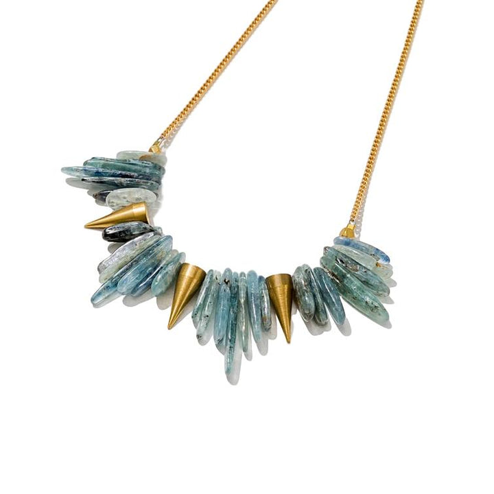 Kyanite Spike Necklace