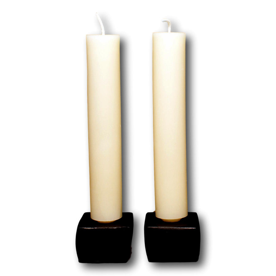 Beeswax 9 Inch Column Candles