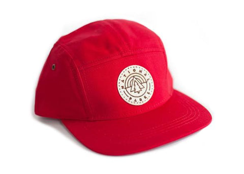 Five Panel Cap with National Park Patch