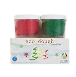 Eco-Kids Eco-Dough 2 Pack Holiday Set