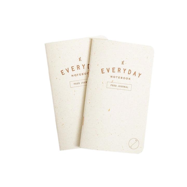 Everyday Food Journal Notebook - 2 Pack