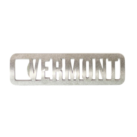 Vermont Steel Cutout Bottle Opener