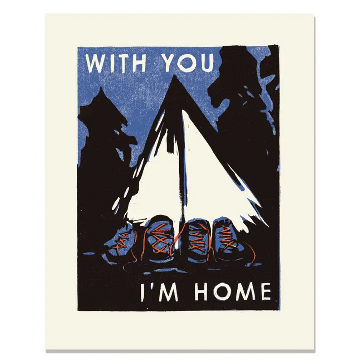 With You I'm Home Print - 8 x 10
