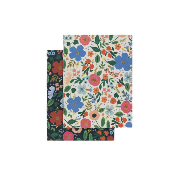 Wild Rose Pocket Notebooks - Set of 2