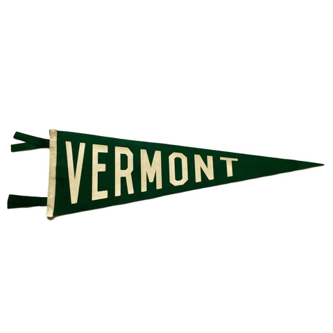 Vermont Wool Pennant